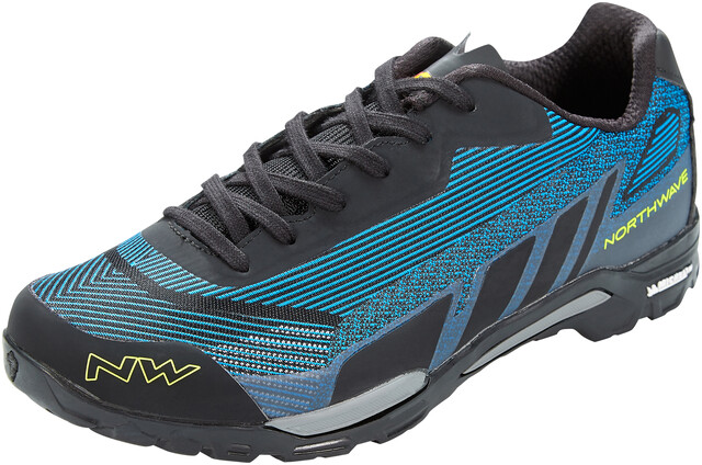 Northwave Outcross Knit 2 Shoes Herre blue